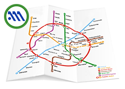 athen metro map
